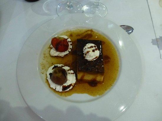 Restaurant Ca n'Aneguet: Dessert minorquin