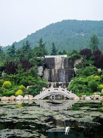 Taishan Geological Park : Parkens fall och damm