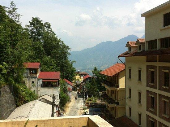 Tulip Hotel Sapa: view from balcony