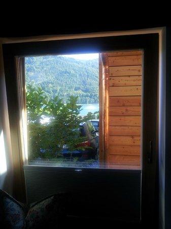 Seehotel Enzian: Blick aus dem Zimmer 308