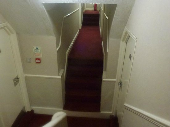 Rossmore Hotel: Hallway