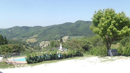 Agriturismo La Cima : Panorama piscina