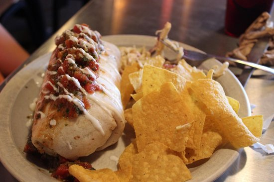 Black Cat Burrito : Burrito