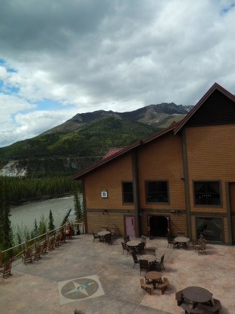 Denali Princess Wilderness Lodge: View from the 3rd floor of building A