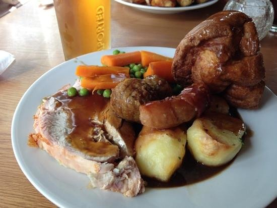 The Lion of Kent: Perfect Sunday roast!
