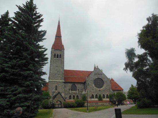 Tampereen Tuomiokirkko: Esterno della Cattedrale
