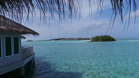Cinnamon Dhonveli Maldives: View from sun deck