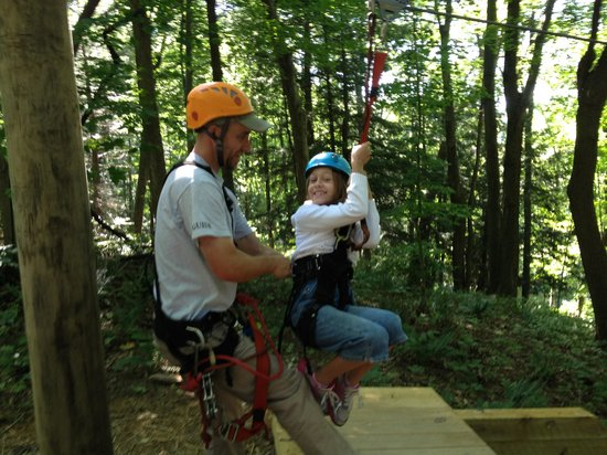 Soaring Cliffs Zip Line Course: Ready to fly!