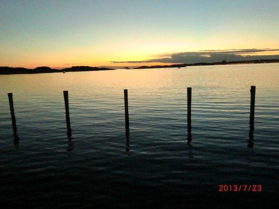 Gullmarsstrand Hotell & Konferens: Utsikt från rum vid vattnet