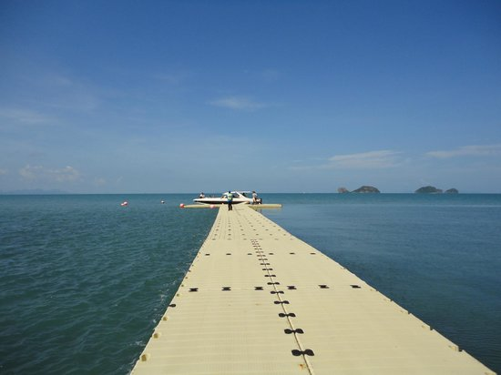 Conrad Koh Samui: Resort boat available for day trips
