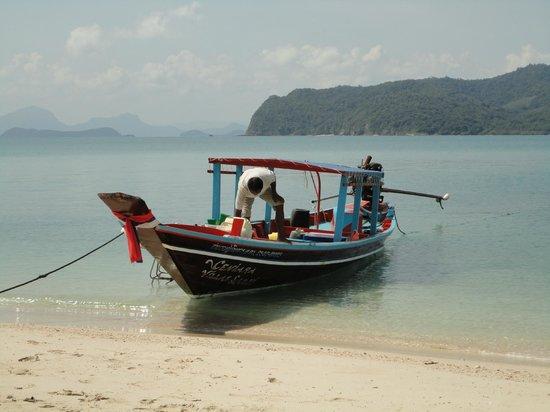 Conrad Koh Samui: Koh Mudsum - a short boat ride from the Conrad