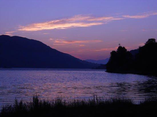 Craig Highland Farm: one of many beautiful sunsets