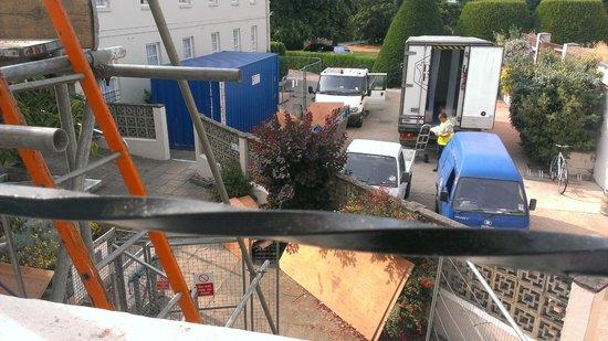 Hilton Avisford Park: Room 133's view!