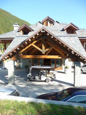 Val di Luce SPA Resort: ingresso