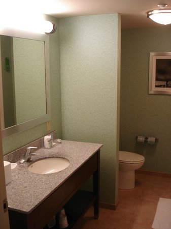 Hampton Inn & Suites Exeter: Clean Bathroom