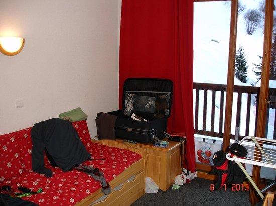 Résidence Les Hauts de Valmeinier  : Livingroom