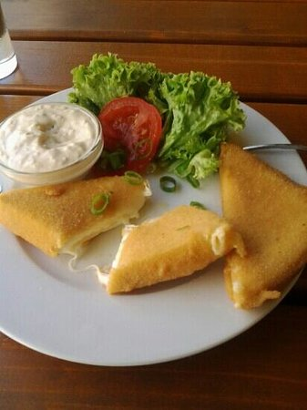 U vsech certu: fried cheese