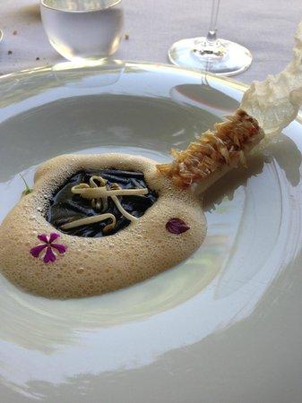 Martin Berasategui: Rouget/écailles comestibles