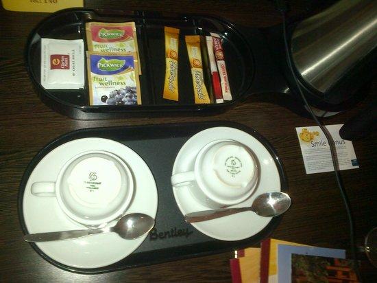 Clarion Hotel Prague City: Cafe/Te
