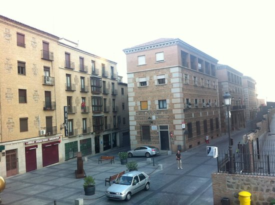 Hotel Alfonso VI: view from room 2