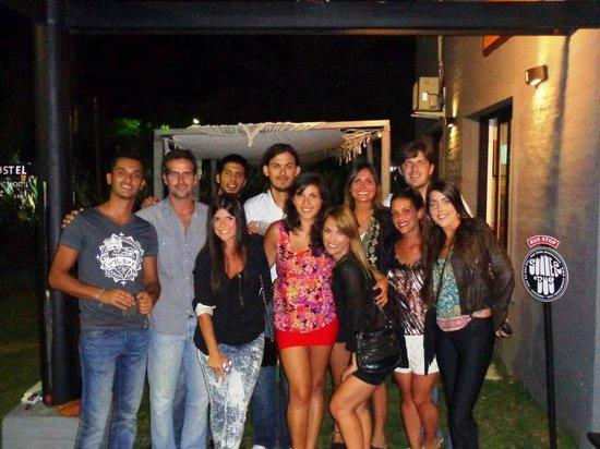 Uy! Punta Hostel : Noche en Uy!!