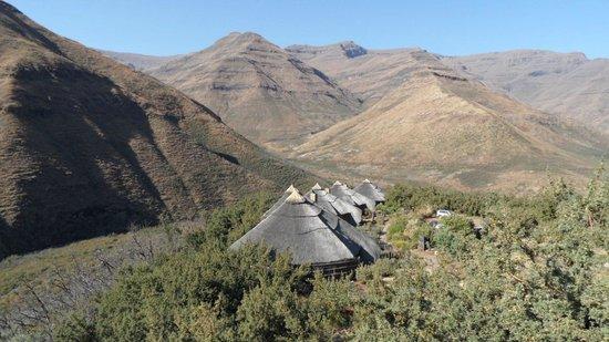 Maliba Mountain Lodge : View from Main lodge