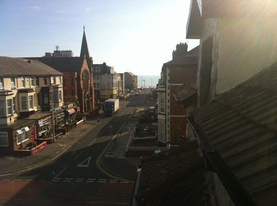 The Lonsdale Hotel: View from our room