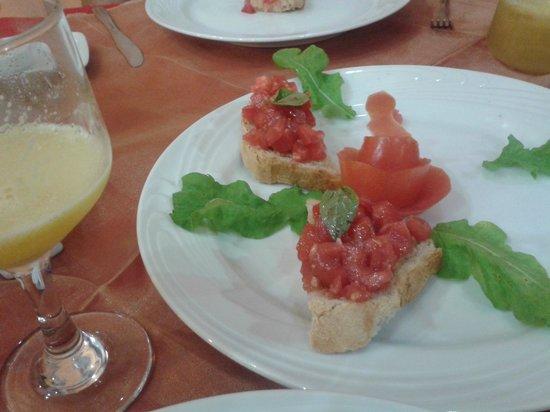 Enoteca Mediterraneo : Bruschetta de tomate