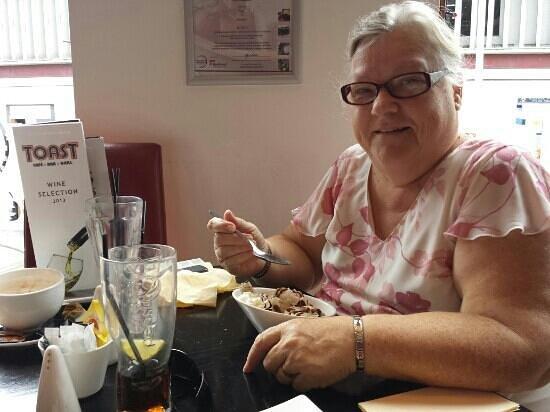 Toast Cafe Bar & Grill Restaurant Blackpool : Dessert at Toast