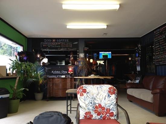 Blue Sea Coffee Shop: inside at Blue Sea