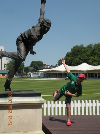 Lord's Cricket Ground: Following legends