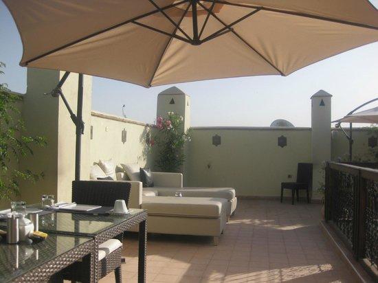 Riad Chayma : terrace