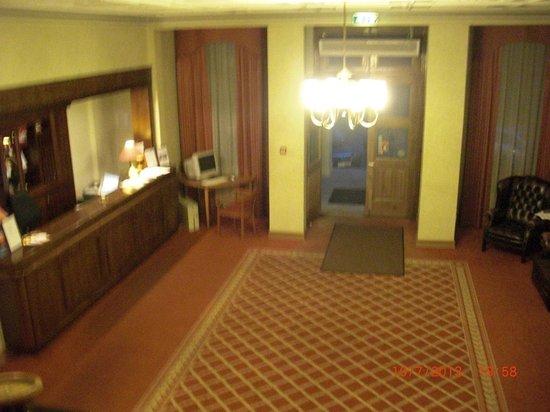 Kolonna Hotel Cesis : reception
