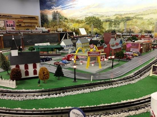 Crossville, TN: train models