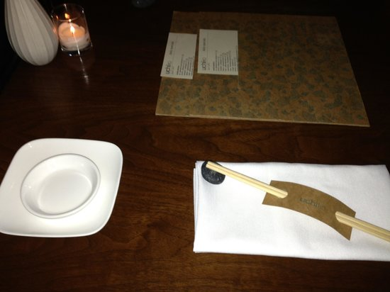 Uchiko: Table setting