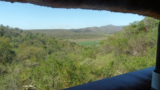 Mvubu River Lodge: View from room balcony