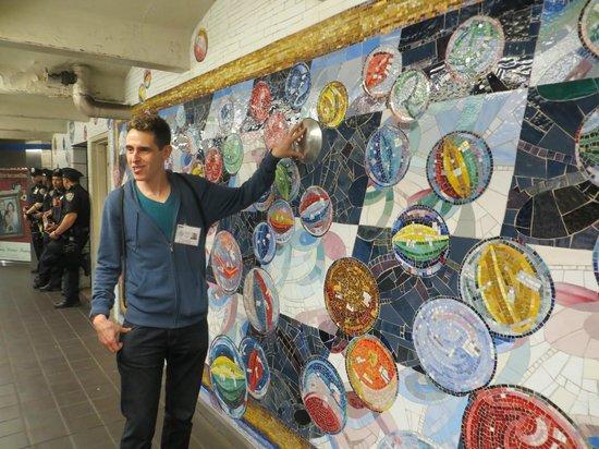 NYC Subway Art Tour: subway art