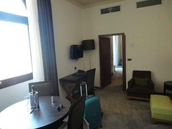 Residence Palazzo Al Velabro: Living room