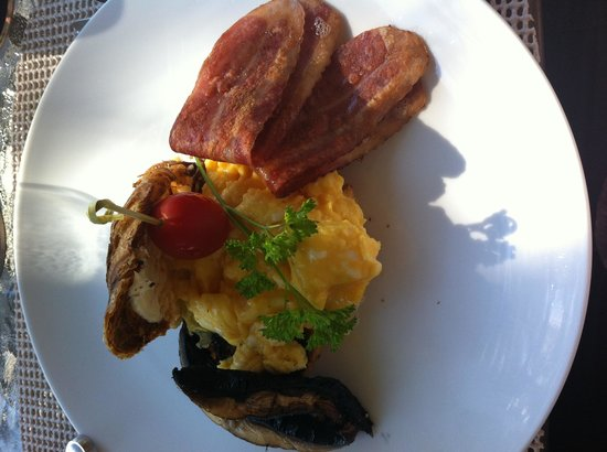 A Lakeview Heights Bed & Breakfast : Delicious breakfast