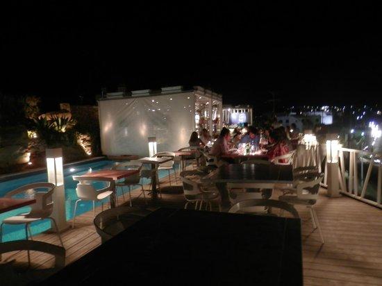 Marechiaro Pizza: A perspective of the restaurant