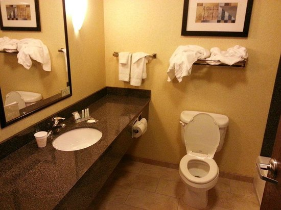 Sleep Inn & Suites: Salle de bains