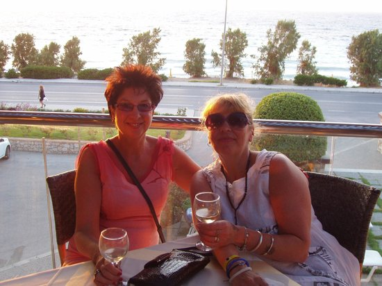 Oceanis Hotel : On the terrace