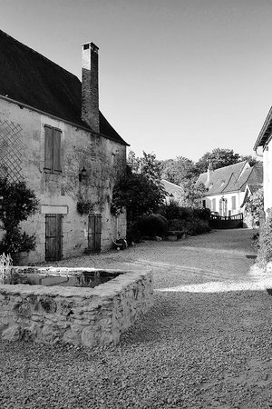 Le Chevrefeuille: Courtyard