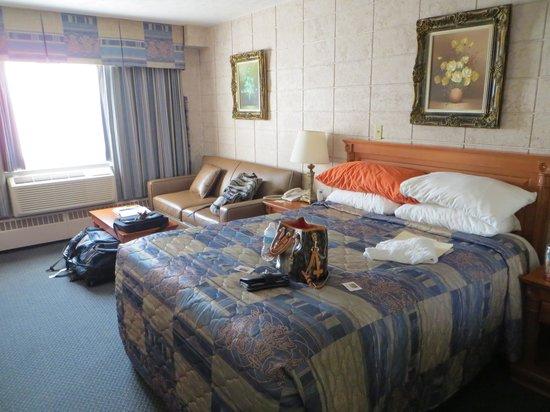 كابري إن: Spacious room