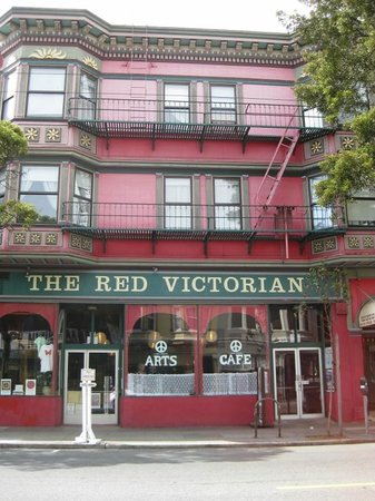 Red Victorian LLC: Red Victorian was gorgeous from the outside