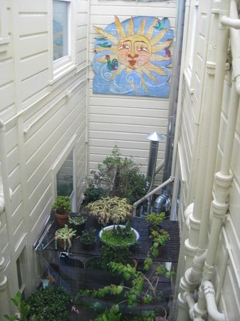 Red Victorian LLC: another shot of the pocket garden