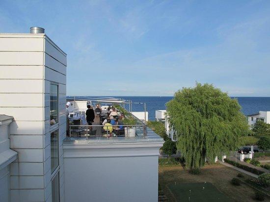 Kurhotel Skodsborg: Restaurant terrace
