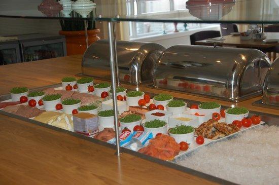 Scandic Bryggen : Buffet colazione