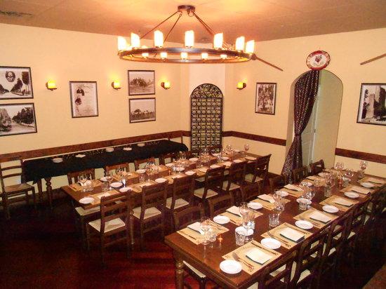 Taverna Fiorentina: Private Room