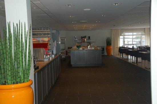 Scandic Bryggen : Sala colazione